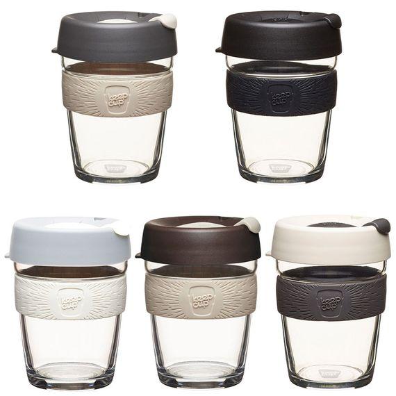 Coffee to go Becher aus Glas - Brew - Medium 340ml - Bild 1