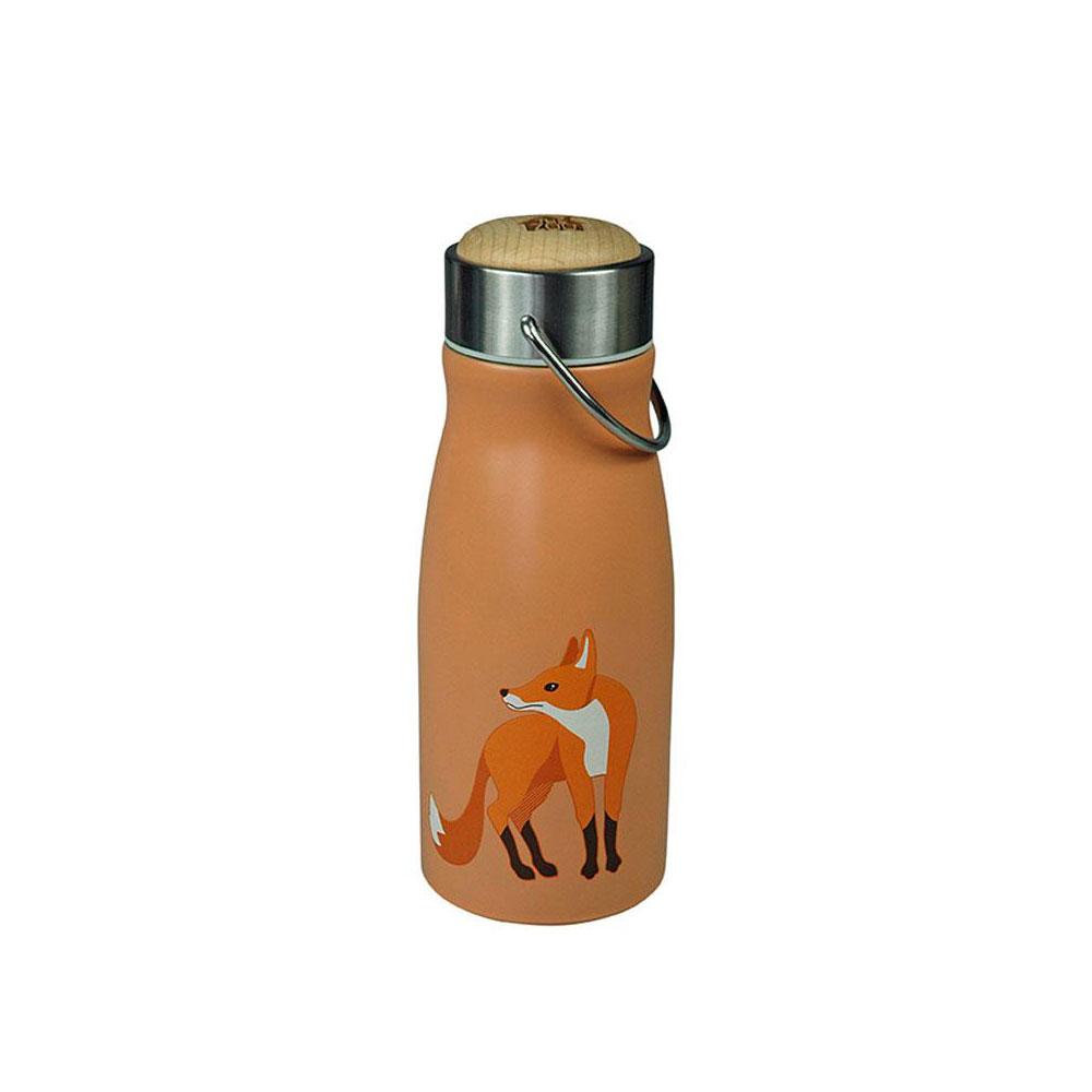 """Thermosflasche """"FLASK Fox"""" aus Edelstahl, 300ML von The Zoo"""