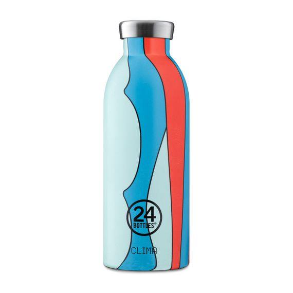 """Isolierte Trinkflasche """"Clima Bottle Print"""" aus Edelstahl 500 ML - Bild 12"""