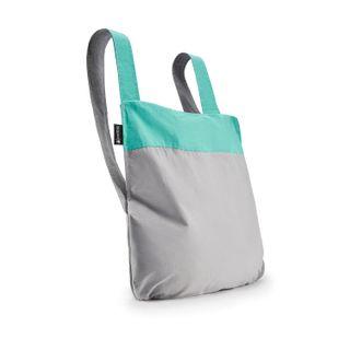 notabag Original 2in1 Tasche und Rucksack - Mint/Grey