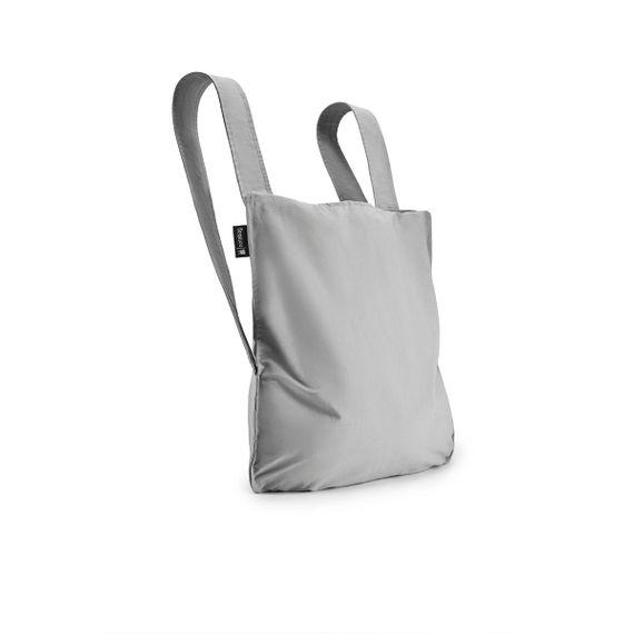 notabag Original 2in1 Tasche und Rucksack - Grey - Bild 1