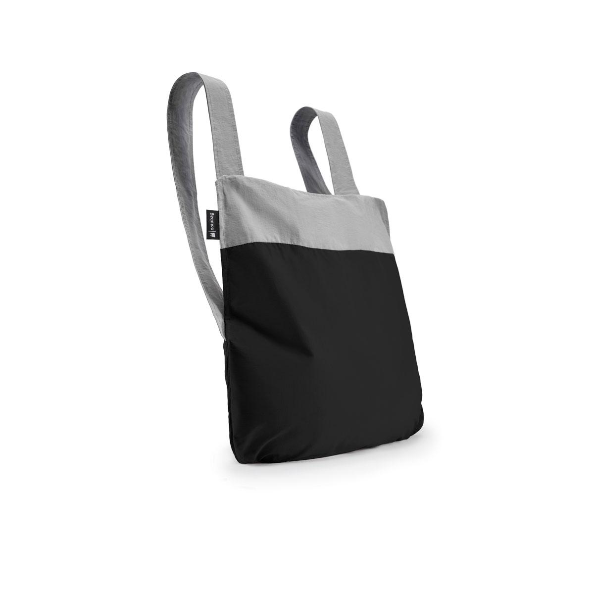 notabag Original 2in1 Tasche und Rucksack - Grey/Black von notabag