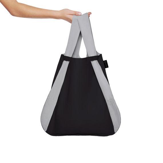 notabag Original 2in1 Tasche und Rucksack - Grey/Black - Bild 4