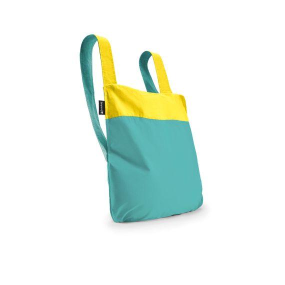 notabag Original 2in1 Tasche und Rucksack - Yellow/Mint - Bild 1
