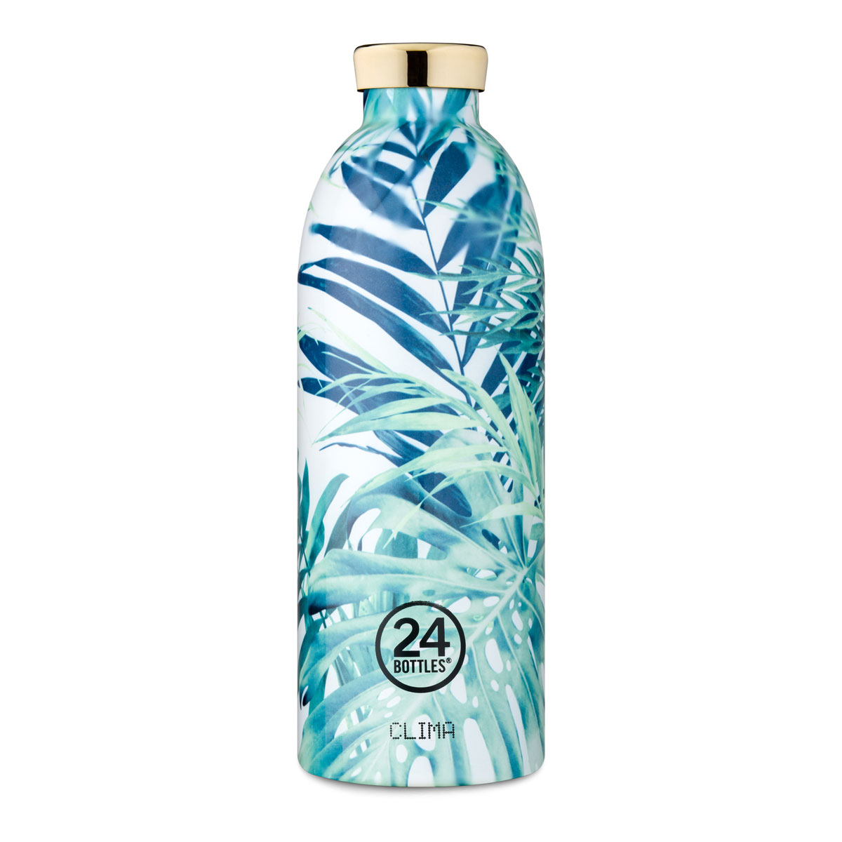 """Isolierte Trinkflasche """"Clima Bottle Print"""" aus Edelstahl 850 ML von 24Bottles"""