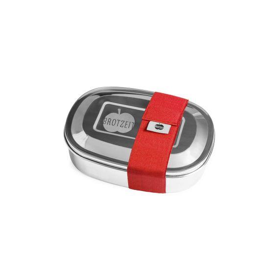 Lunchbox MAGIC mit Gummiband und Unterteilung aus Edelstahl - 100% BPA frei, fest verschliessbar - Bild 19