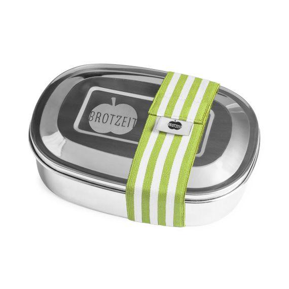 Lunchbox MAGIC mit Gummiband und Unterteilung aus Edelstahl - 100% BPA frei, fest verschliessbar - Bild 14