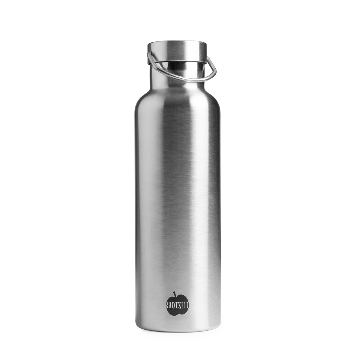 Isolierte Trinkflasche aus Edelstahl 750 ML von Brotzeit