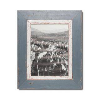 Unikat Vinatge-Bilderrahmen aus recyceltem Holz - A4