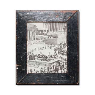 Unikat Vinatge-Bilderrahmen aus recyceltem Holz -20 x 25 cm
