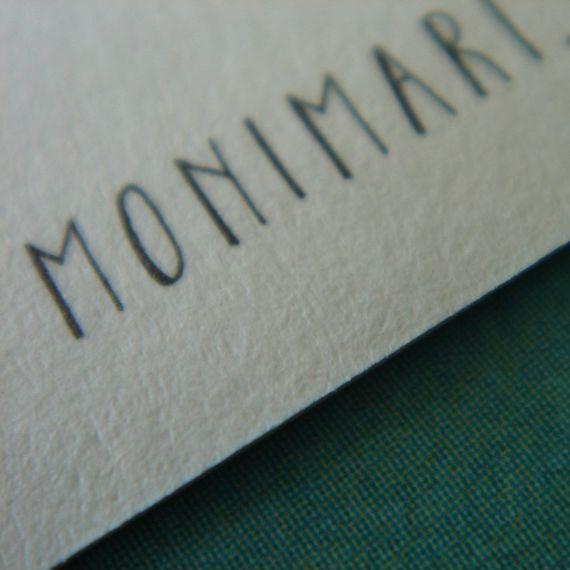 """3"" Zahlen-Postkarte - gedruckt auf Recyclingpapier  - Bild 3"