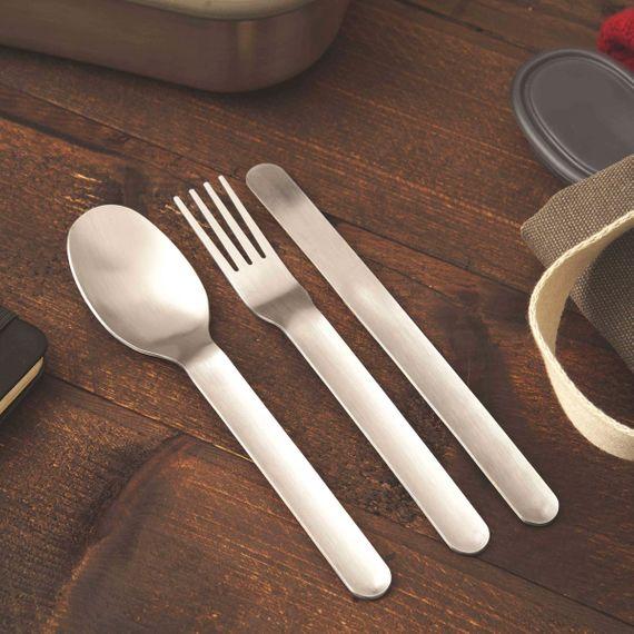 "Besteck-Set mit Etui ""Box Appetit Cutlery"" aus Edelstahl - Bild 4"