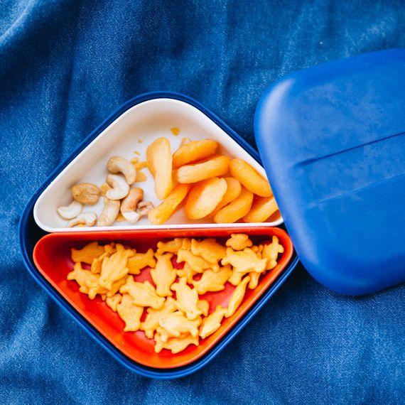 """Quadratische Lunchbox """"Square Bento Lunch Box"""" mit Silikonband aus Bambusfasern - Bild 23"""