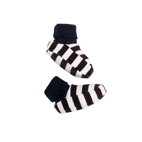 """Babyschuhe """"Booties"""" - aus GOTS-zertifizierter Bio-Baumwolle - Bild 2"""