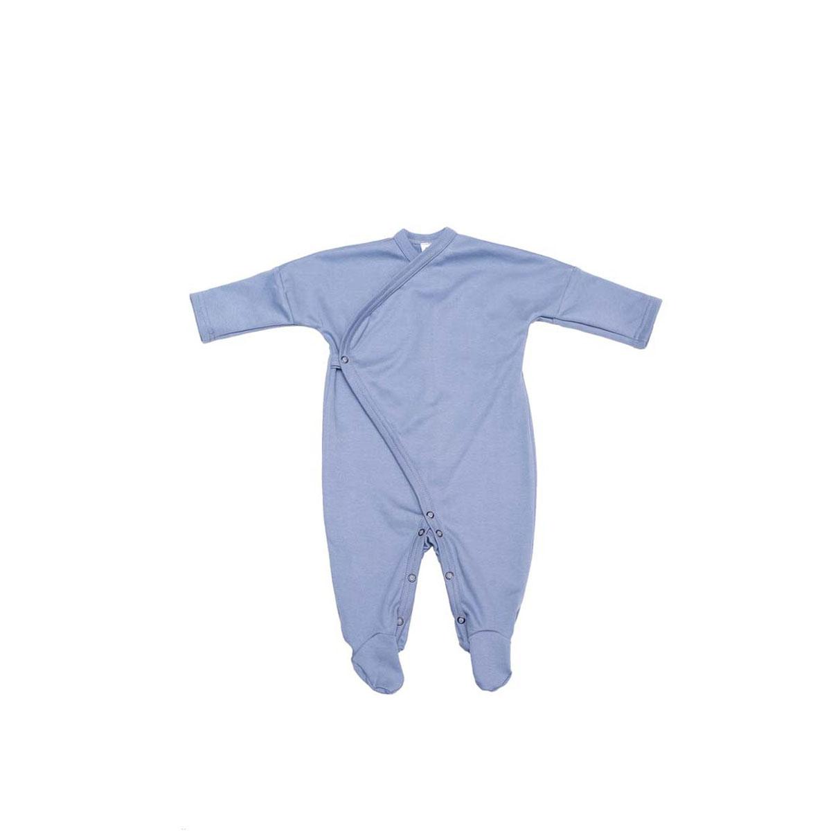 Baby Schlafanzug mit Füssen - aus GOTS-zertifizierter Bio-Baumwolle von Wooly Organic