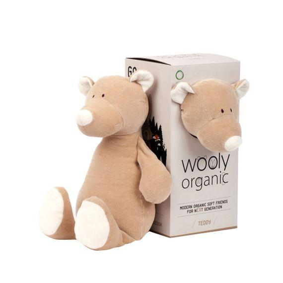 """Großes Kuscheltier """"Teddy"""" aus Bio-Baumwolle - Bild 1"""