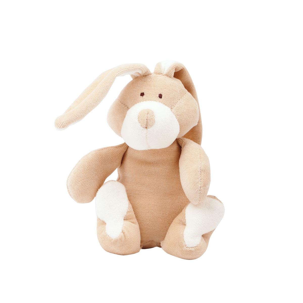 """Kleines Kuscheltier """"Bunny"""" aus Bio-Baumwolle von Wooly Organic"""