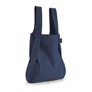 notabag Original 2in1 Tasche und Rucksack - Navy Blue