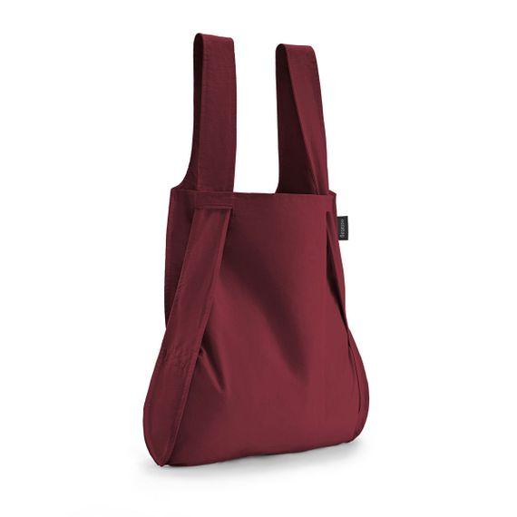 notabag Original 2in1 Tasche und Rucksack - Wine Red - Bild 1
