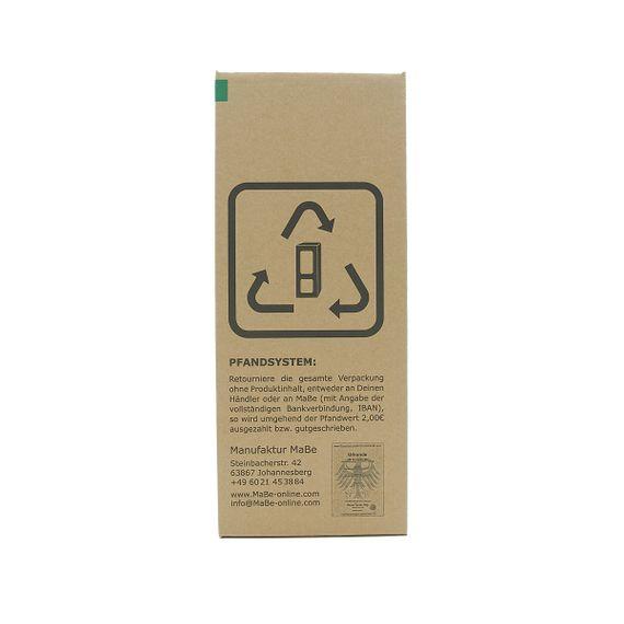 hängeWINDLICHT aus recycelten Weinflaschen mit Untersetzer aus Beton - Bild 9