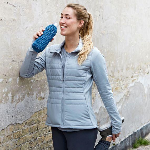 Trinkflasche CATCH-IT mit Strickhülle aus BPA-freiem Tritan - Bild 6