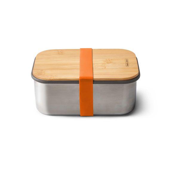 """Lunchbox """"Sandwich Box Large"""" 1250ml aus Edelstahl mit Bambusdeckel - Bild 2"""