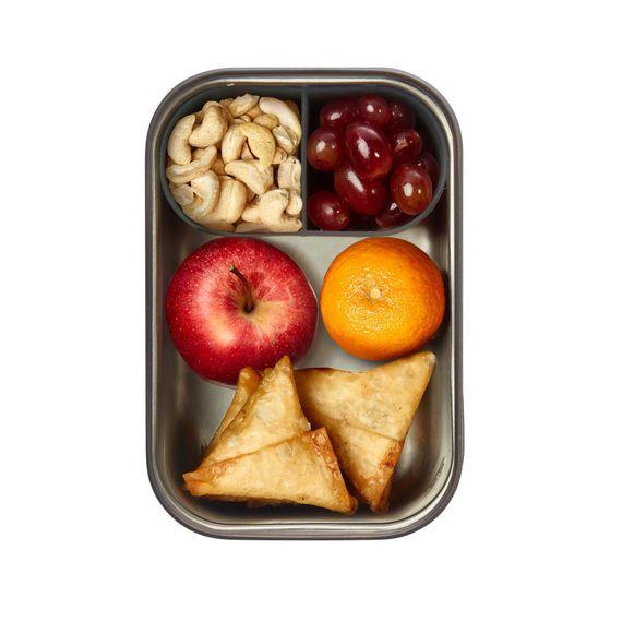 """Lunchbox """"Sandwich Box Large"""" 1250ml aus Edelstahl mit Bambusdeckel - Bild 7"""
