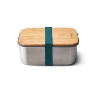 """Lunchbox """"Sandwich Box Large"""" 1250ml aus Edelstahl mit Bambusdeckel"""