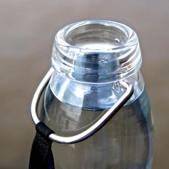 """Trinkflasche aus Glas mit Aktivkohlefilter """"Eau Good Glass"""" 650ml - Bild 6"""