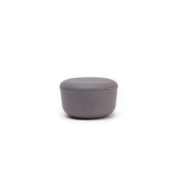 """Runde Lunchbox """"Store & Go"""" 750ml aus FSC-zertifizierten-Bambusfasern mit Silikondeckel - Bild 1"""