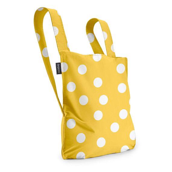 notabag Original 2in1 Tasche und Rucksack - Golden Dots - Bild 2