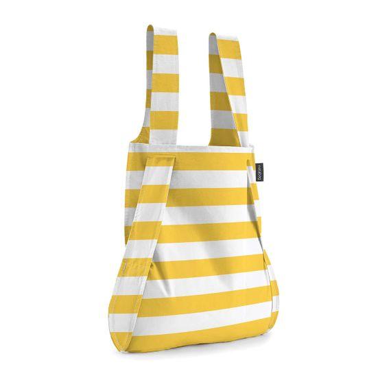 notabag Original 2in1 Tasche und Rucksack - Golden Stripes - Bild 1
