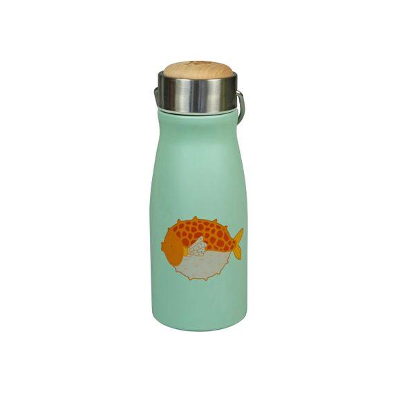 """Thermosflasche """"FLASK Puff Fish"""" aus Edelstahl, 300ML - Bild 1"""