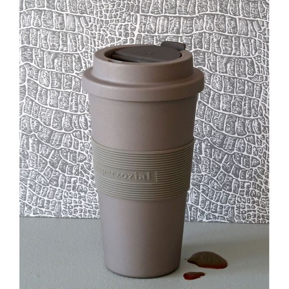 "Coffee to-go Becher ""Time-Out Mug"" Large - aus aus Bioplastik - Bild 16"