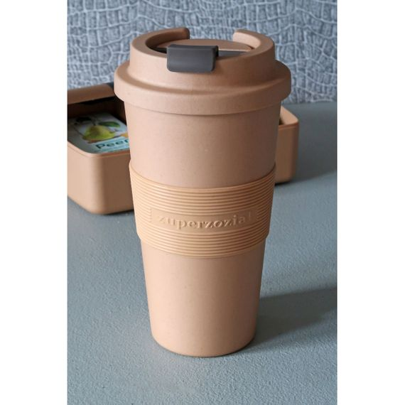 "Coffee to-go Becher ""Time-Out Mug"" Large - aus aus Bioplastik - Bild 15"