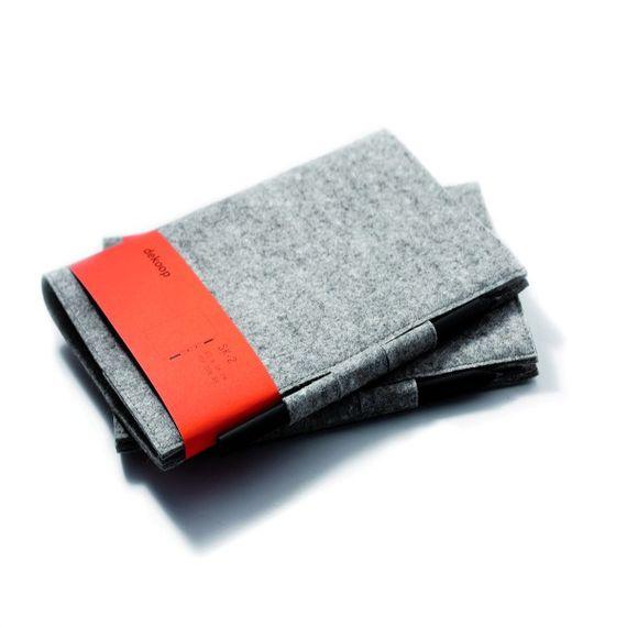 Skizzenheft DIN A5 mit Wollfilz-Umschlag (No. 2) - Bild 1