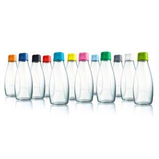 Wiederverwendbare Wasserflasche mit Verschluss - 0,5 Liter